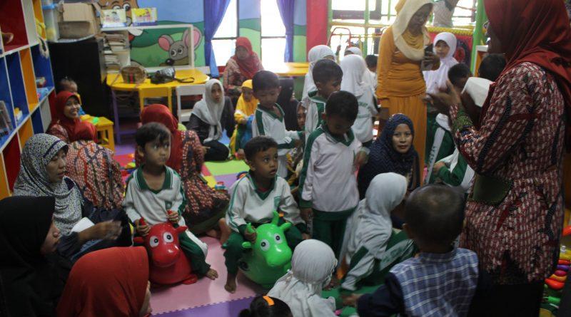 Story Telling Membuat Anak-anak Betah di Perpustakaan