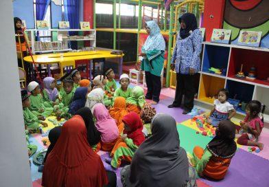 Semangat Dan Antusias TK Pancasila Pamekasan Berkunjung Ke Perpustakaan Umum